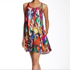 Trina Turk Seraphina Floral Racerback Dress